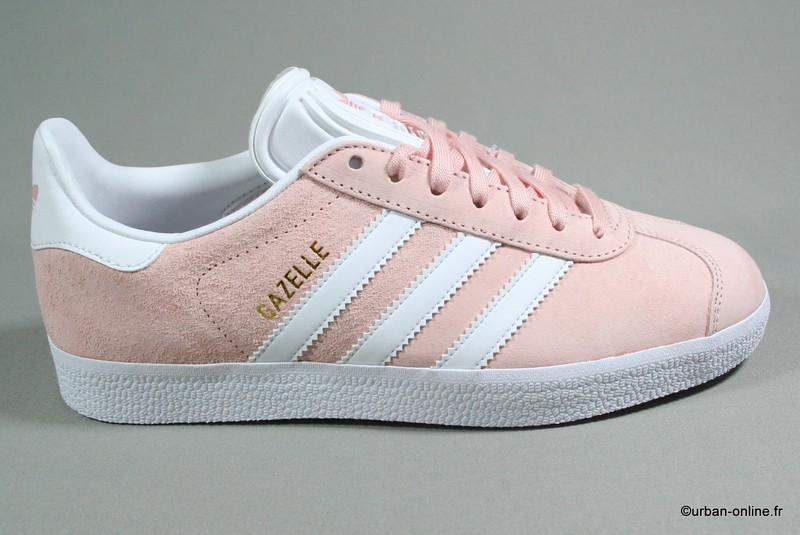 adidas gazelle junior blanche et rose