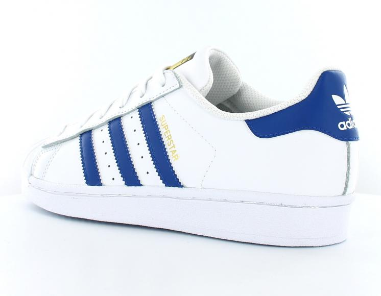 adidas superstar canvas bleue et blanche femme the farm company