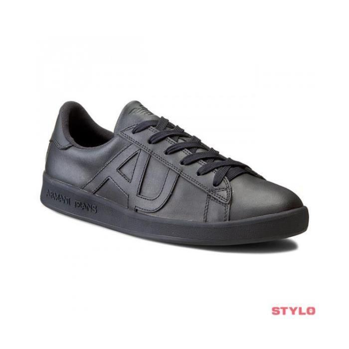 basket armani noir